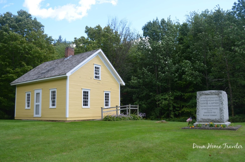 Chester A Arthur birthplace, Vermont