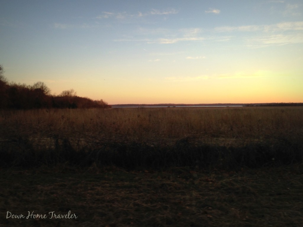 Tishomingo National Wildlife Refuge, Oklahoma, Sunset