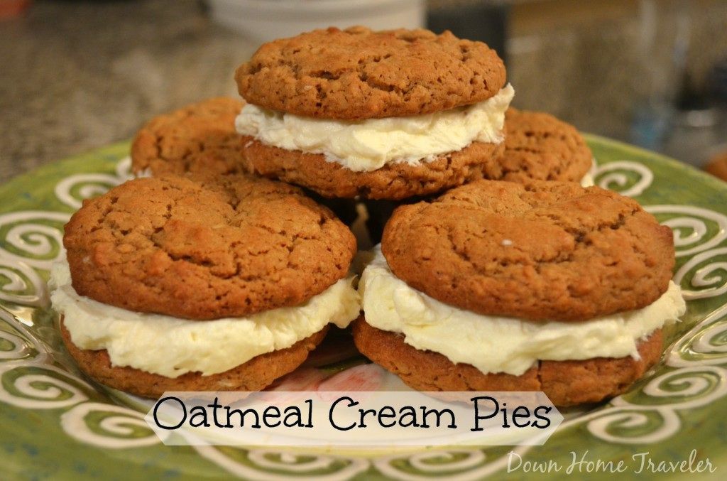 Oatmeal Cream Pies - Down Home Traveler | Down Home Traveler