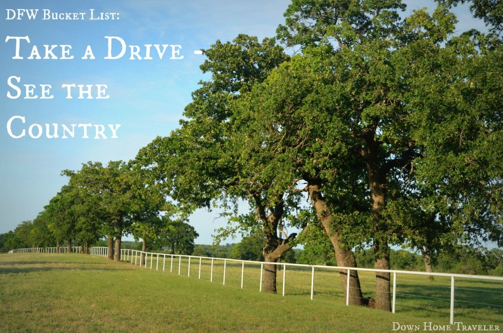 DFW-Bucket-List, Texas, DFW, Things-To-Do, Road-Trip, Drive, Country-Road
