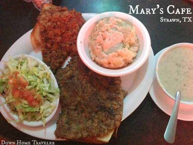 Strawn, Texas, Chicken Fried Steak, Food, Southern Cooking