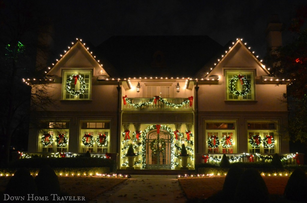 Christmas Lights | Down Home Traveler
