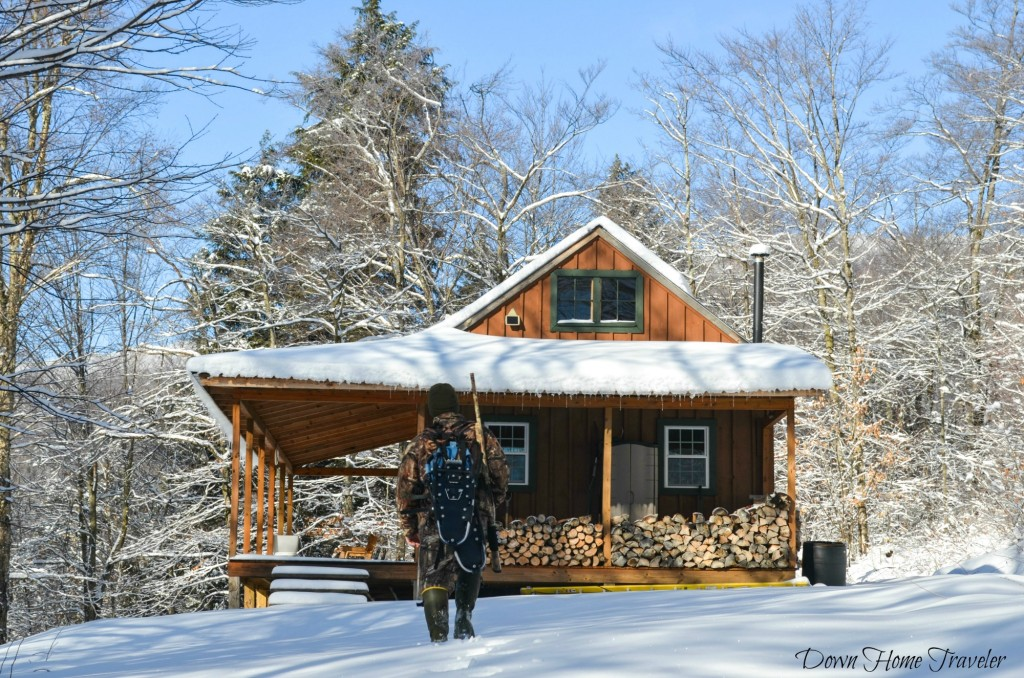 Vermont, Hike, Winter, Snow, Forest, Deer Camp, Vermont Deer Camp, Hunting Camp, Eden Vermont