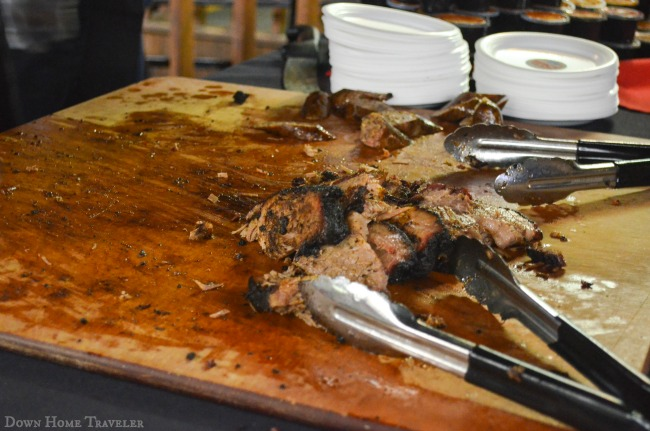 Fort Worth Food and Wine Festival, BBQ at Billy Bob's