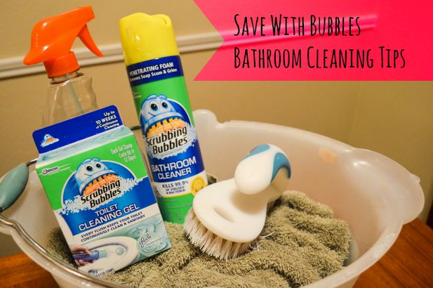 #savewithbubbles #CollectiveBias #ad #bathroomcleaingtips